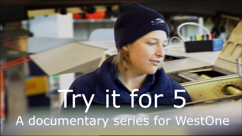 Try it For Five - documentary, music and sound by Ben Chase